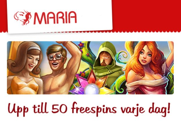 free spins i maj