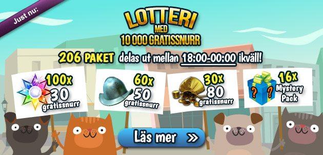 freespins lotteri