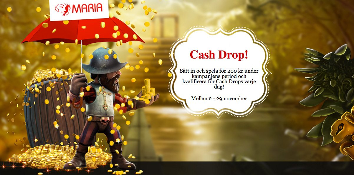 cash drops