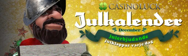 casinoluck julkalender